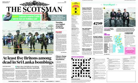 The Scotsman – April 22, 2019