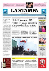 La Stampa Torino Provincia e Canavese - 17 Febbraio 2019