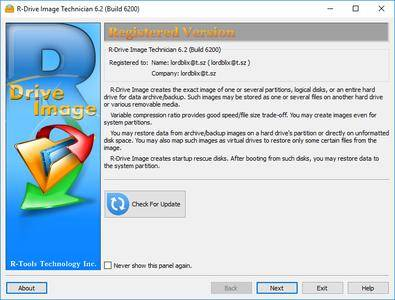 R-Tools R-Drive Image 6.2 Build 6208 Multilingual