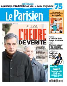Le Parisien du Lundi 24 Février 2020