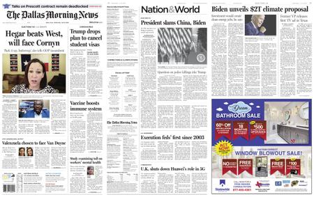 The Dallas Morning News – July 15, 2020