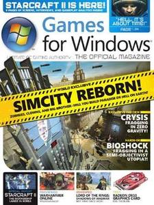 Games For Windows July 2007