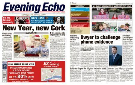 Evening Echo – December 21, 2017
