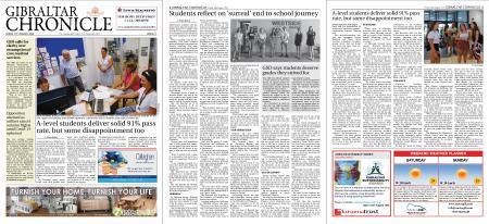 Gibraltar Chronicle – 14 August 2020