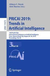 PRICAI 2019: Trends in Artificial Intelligence