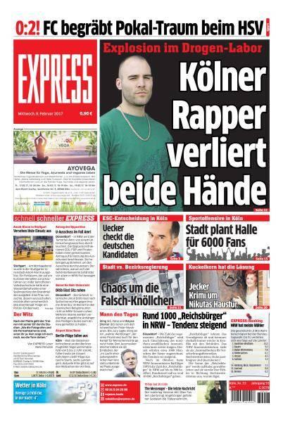 Express Köln - 8 Februar 2017