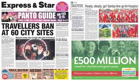 Express and Star City Edition – December 09, 2019
