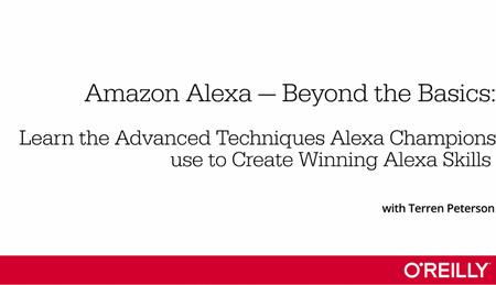 Amazon Alexa - Beyond the Basics