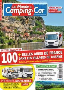 Le Monde du Camping-Car - juillet 2019