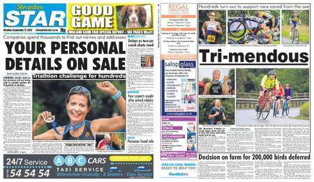 Shropshire Star Shrewsbury Edition – September 17, 2018