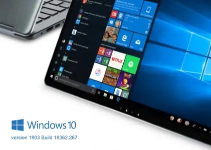 Windows 10 version 1903 Build 18362.267