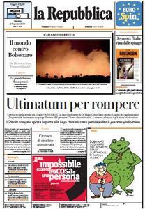 la Repubblica - 24 Agosto 2019