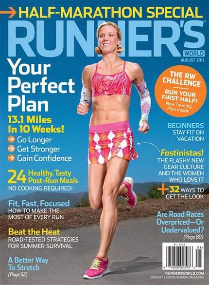 Runner's World (August 2011) / USA