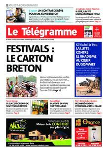 Le Télégramme Ouest Cornouaille – 13 janvier 2020
