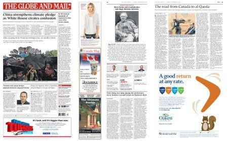 The Globe and Mail – September 18, 2017
