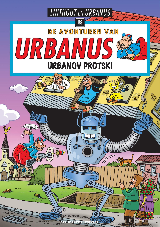 """Strip - """"De Avonturen Van Urbanus - 183 - Urbanov Protski cbr"""