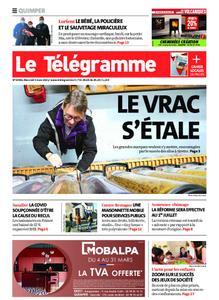 Le Télégramme Quimper – 03 mars 2021