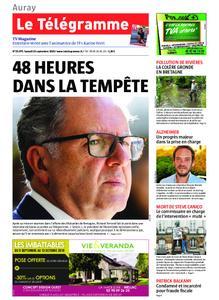 Le Télégramme Auray – 14 septembre 2019