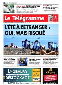 Le Télégramme Concarneau – 26 mai 2020