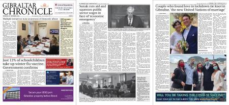 Gibraltar Chronicle – 26 November 2020
