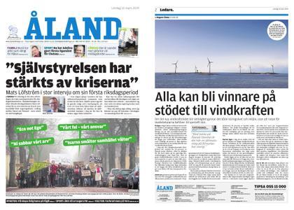 Ålandstidningen – 16 mars 2019