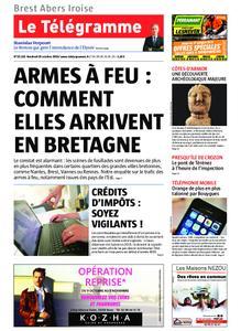 Le Télégramme Brest Abers Iroise – 25 octobre 2019