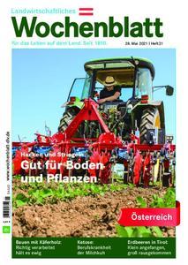 Bayerisches Landwirtschaftliches Wochenblatt Oesterreich - 27. Mai 2021