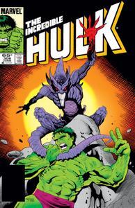 Incredible Hulk 308 1985