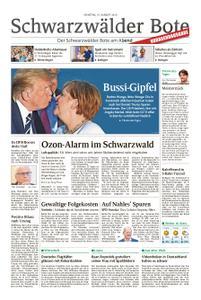 Schwarzwälder Bote Hechingen - 27. August 2019