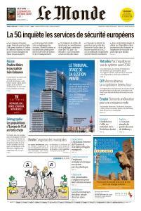 Le Monde du Jeudi 13 Juin 2019