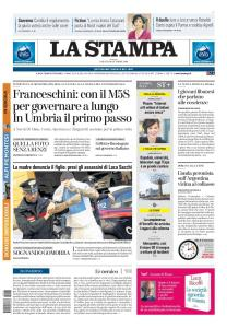 La Stampa Torino Provincia e Canavese - 26 Ottobre 2019