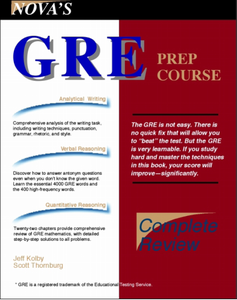 Nova Press GRE Prep Course ebook