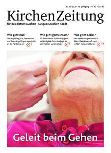 KirchenZeitung für das Bistum Aachen – 26. Juli 2020