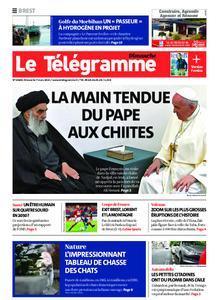 Le Télégramme Brest Abers Iroise – 07 mars 2021