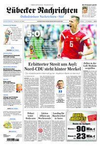 Lübecker Nachrichten Ostholstein Süd - 15. Juni 2018