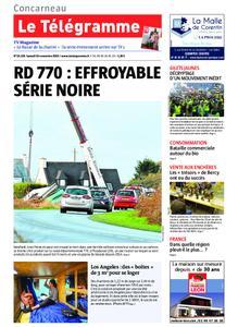 Le Télégramme Concarneau – 16 novembre 2019