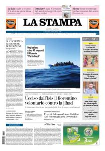 La Stampa Torino Provincia e Canavese - 19 Marzo 2019