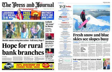 The Press and Journal Moray – February 05, 2018