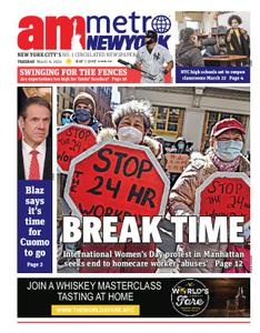AM New York - March 09, 2021