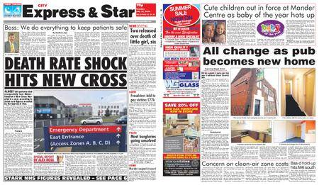 Express and Star City Edition – July 31, 2018