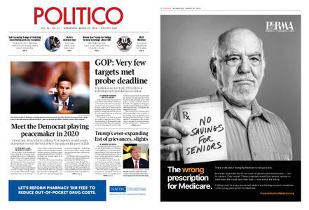 Politico – March 20, 2019