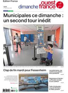 Ouest-France Édition France – 28 juin 2020