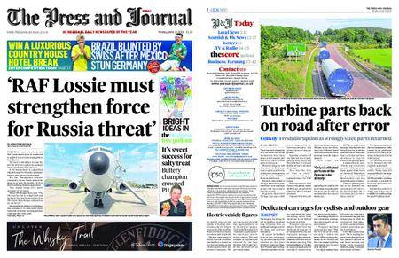 The Press and Journal Moray – June 18, 2018