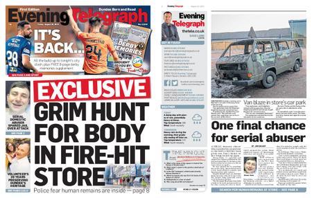 Evening Telegraph First Edition – August 30, 2019
