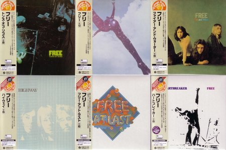 Free - The Complete Mini LP Set (1968-1973) {2002 Island Japan UICY-9130~9203, Disk Union Promo Box}