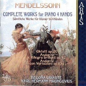 Mendelssohn · Complete Works for Piano 4 Hands