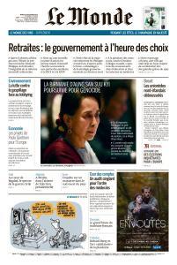 Le Monde du Mardi 10 Décembre 2019
