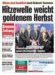Kronen Zeitung - 1 September 2019