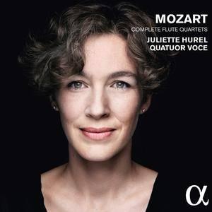 Juliette Hurel & Quatuor Voce - Mozart - Complete Flute Quartets (2015) {Alpha Classics}