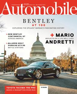 Automobile USA - July 2019